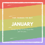 January What to Buy and What Not to Buy