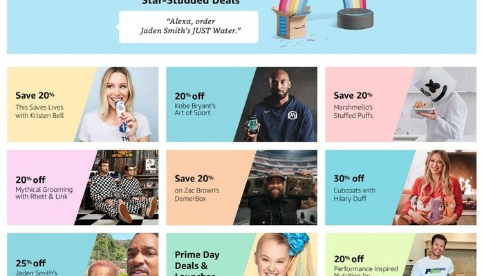 Star Studded Deals for Prime Day