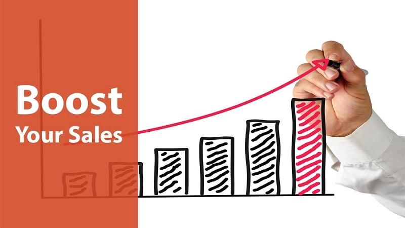 sales boost