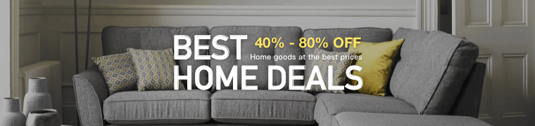 Best Home Deals 40% - 80% OFF