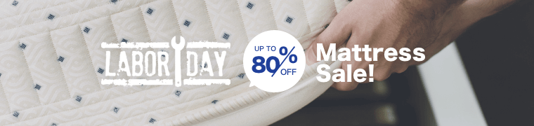 LABOR DAY Mattress Sale Up to 80% off