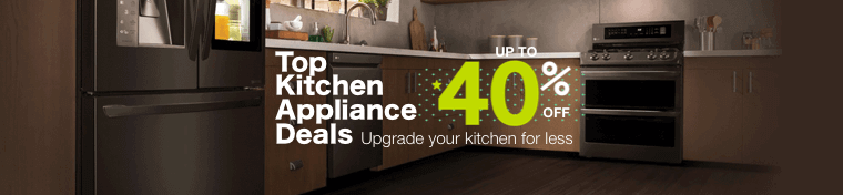 Top Kitchen Appliance Deals - Up to 40% OFF