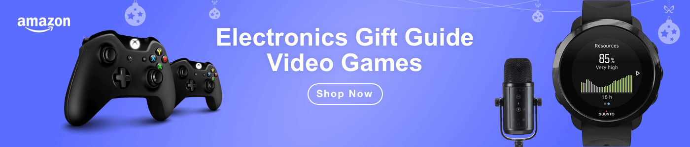 Electronics Gift Guide: Video Games