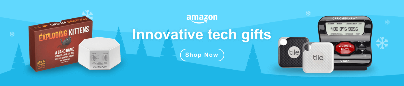Innovative tech gifts